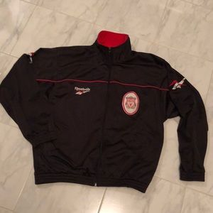 Reebok Liverpool Carlsberg zip up light jacket
